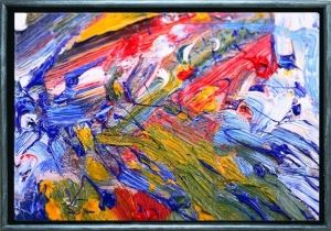 Luxury Framed Art Abstract