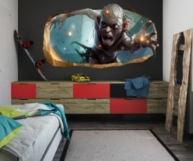 3D Mural Wall Art My Precious!, Glowing in the dark, 2.20 x 1.20 m