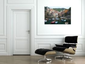 Tablou Acces rapid in port, luminos in intuneric, 60 x 90 cm