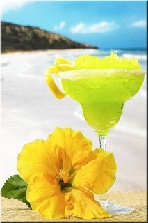Canvas Wall Art Margaritabeach, Glowing in the dark, 60 x 90 cm