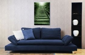 Canvas Wall Art Another Way to Heaven, Glowing in the dark, 60 x 90 cm