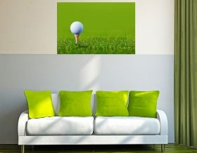 Tablou Golf, luminos in intuneric, 60 x 90 cm