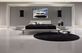 Tablou BMW masina concept, luminos in intuneric, 60 x 90 cm