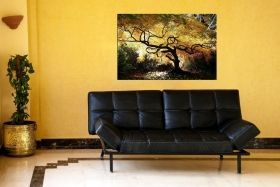 Tablou Artar canadian, luminos in intuneric, 60 x 90 cm