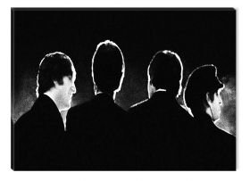 Tablou Beatles, luminos in intuneric, 80 x 120 cm