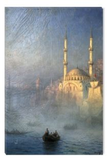 Tablou Aivazovschy Constantinople, 1887, luminos in intuneric, 80 x 120 cm