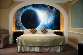 Mural Wall Art Cosmos, Glowing in the dark, 1.83 x 1.28 m