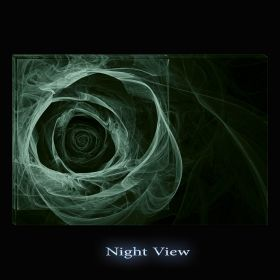 Canvas Wall Art Rose of light, Glowing in the dark, 80 x 120 cm