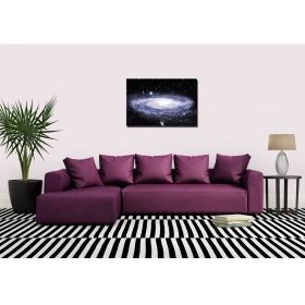 Canvas Wall Art Home, Glowing in the dark, 60 x 90 cm