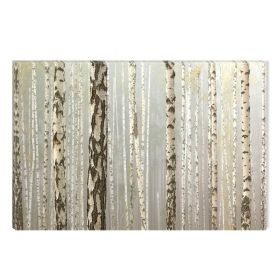 Canvas Wall Art The sleeping forest, Glowing in the dark, 60 x 90 cm