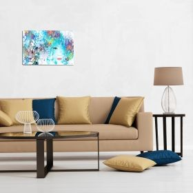 Canvas Wall Art Duplicity, Glowing in the dark, 60 x 90 cm