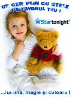 Stickere decorative, Set Fairy 5 Stelute XL Startonight, luminoase in intuneric