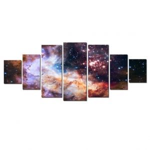 Large Canvas Wall Art Sets Universe