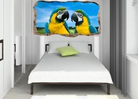 3D Mural Wall Art Love, Glowing in the dark, 1.50 x 0.82 m