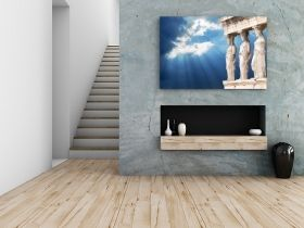 Tablou Acropole, luminos in intuneric, 60 x 90 cm