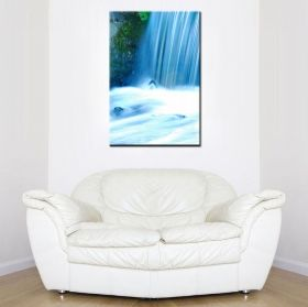 Tablou Cascada alabastra, luminos in intuneric, 80 x 120 cm