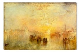 Tablou Joseph Mallord William Turner Going To The Ball (San Martino), 1849, luminos in intuneric, 60 x 90 cm